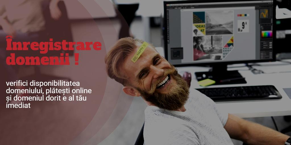 Înregistrare domenii web pe portalul online efectRO: acces eficient la toate operațiunile tale de hosting.