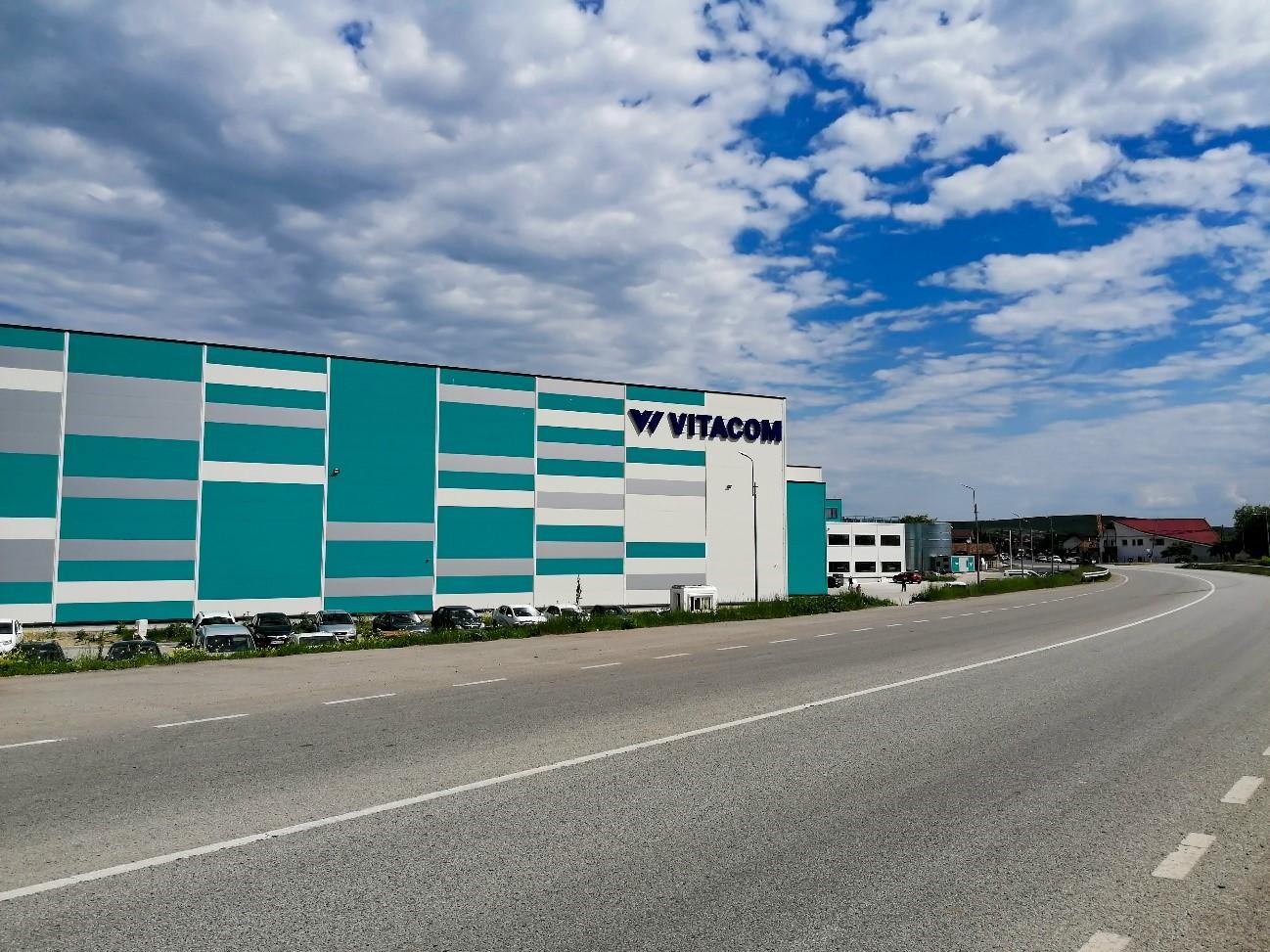 Noul sediu logistic Vitacom din Apahida devine operațional în 31 mai 2021.